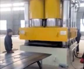 客户定制款液压机视频