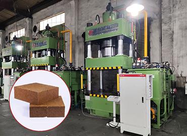 镁碳砖成型液压机客户定制案例