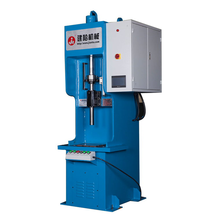 伺服单柱液压机