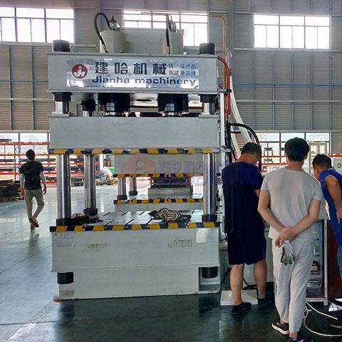 315吨双缸拉伸液压机